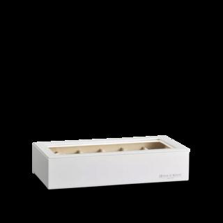 Heisse & Söhne Stapelbares Schmuckkästchen Mirage XL - Oberteil: Uhrenbox für 12 Uhren 70019-123.42