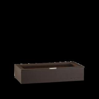 Heisse & Söhne Stapelbares Schmuckkästchen Mirage XL - Oberteil: Uhrenbox für 12 Uhren 70019-123.47