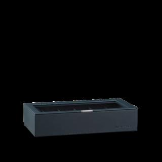 Heisse & Söhne Stapelbares Schmuckkästchen Mirage XL - Oberteil: Uhrenbox für 12 Uhren 70019-123.94