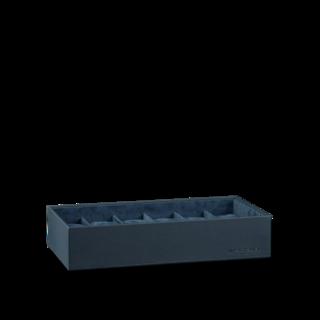 Heisse & Söhne Stapelbares Schmuckkästchen Mirage XL - Unterteil: Uhrenbox für 12 Uhren 70019-124.94