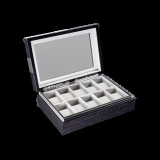 Heisse & Söhne Uhrenbox mit Sichtfenster Executive 10 70019-03