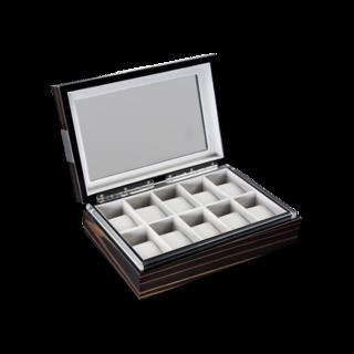 Heisse & Söhne Uhrenbox mit Sichtfenster Executive 10 70019-04