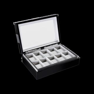 Heisse & Söhne Uhrenbox mit Sichtfenster Executive 10 70019-57