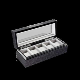 Heisse & Söhne Uhrenbox mit Sichtfenster Executive 5 70019-01