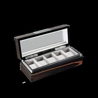 Heisse & Söhne Uhrenbox mit Sichtfenster Executive 5 70019-02