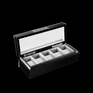 Heisse & Söhne Uhrenbox mit Sichtfenster Executive 5 70019-56