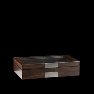 Heisse & Söhne Uhrenbox Monteray 8+ Esche - Walnuss Seidenmatt 70019-110