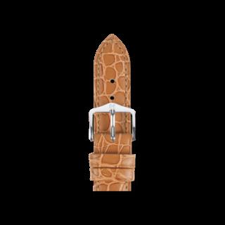 Hirsch Uhren-Armband Aristocrat Goldbraun 03828070-2-20