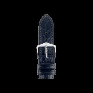 Hirsch Uhren-Armband Aristocrat Schwarz 03828050-2-17