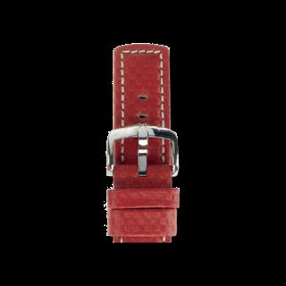 Hirsch Uhren-Armband Carbon Rot 02592020-2-22