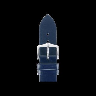 Hirsch Uhren-Armband Diamond Calf Blau 14100280-2-12