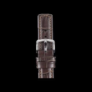 Hirsch Uhren-Armband Grand Duke Braun 02528010-2-22