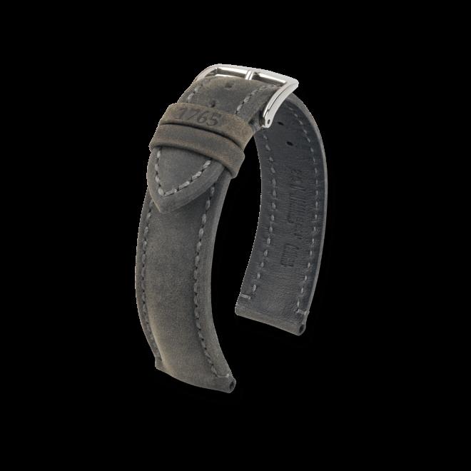 Uhren-Armband Hirsch Heritage Goldbraun Uhren-Armband mit silberfarbener Dornschließe | Anstoßbreite 20 mm | Länge 20 cm bei Brogle