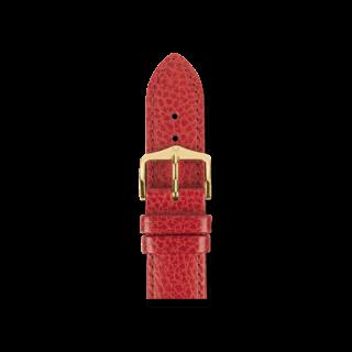 Hirsch Uhren-Armband Kansas Rot 01502120-1-14