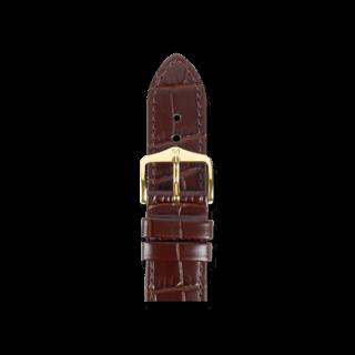 Hirsch Uhren-Armband Louisianalook Braun 03427110-1-20