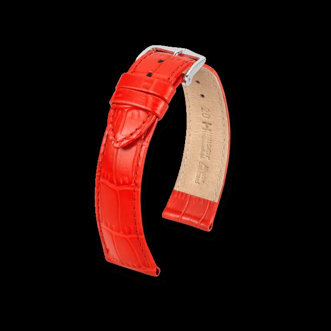 Uhren-Armband Hirsch Louisianalook Weiß Uhren-Armband mit goldfarbener Dornschließe | Anstoßbreite 12 mm | Länge 18 cm bei Brogle
