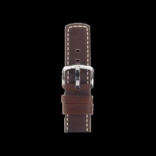 Hirsch Uhren-Armband Mariner Braun 14502110-2-22