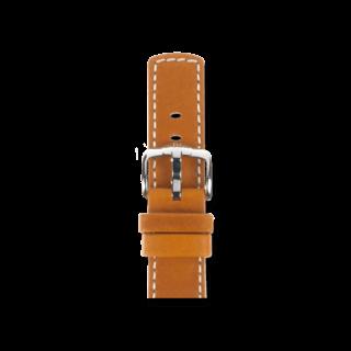 Hirsch Uhren-Armband Mariner Goldbraun 14502170-2-18