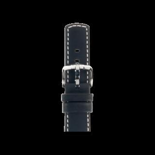 Hirsch Uhren-Armband Mariner Schwarz 14502150-2-18