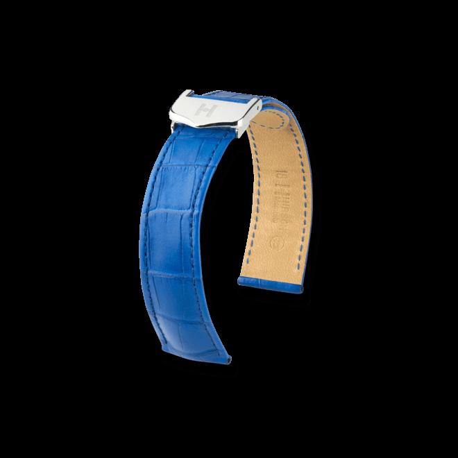 Uhren-Armband Hirsch Momento Goldbraun Matt Uhren-Armband mit silberfarbener Faltschließe | Anstoßbreite 15 mm | Länge 18 cm bei Brogle