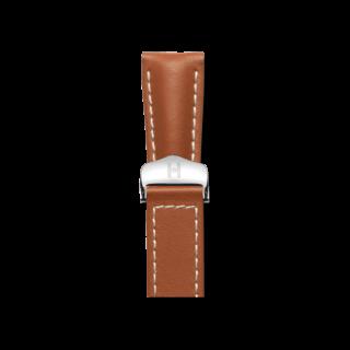 Hirsch Uhren-Armband Navigator Goldbraun 07002470-2-2220