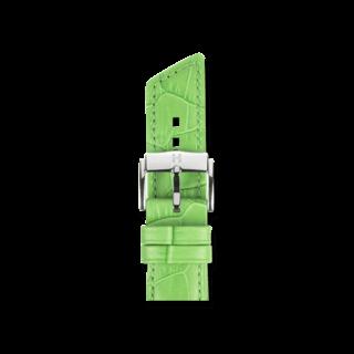 Hirsch Uhren-Armband Princess Grün Matt 02628142-2-20