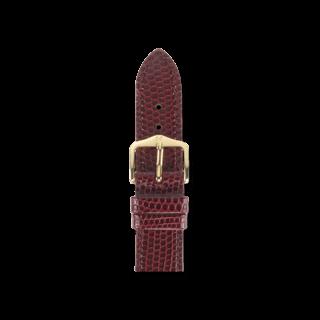 Hirsch Uhren-Armband Rainbow Weinrot 12302660-1-18