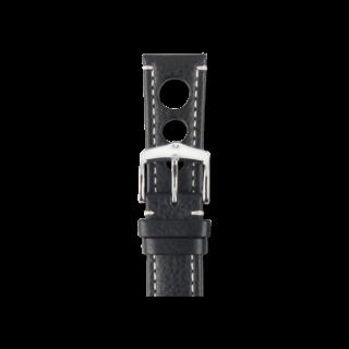 Hirsch Uhren-Armband Rally Schwarz 05102051-2-20