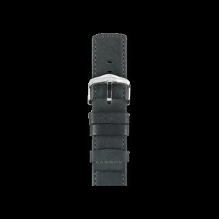 Hirsch Uhren-Armband Rebel Schwarz 05202050-2-20