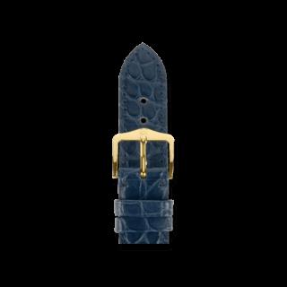 Hirsch Uhren-Armband Regent Blau Matt 04107089-2-20