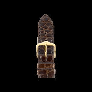 Hirsch Uhren-Armband Regent Braun Matt 04107119-1-18