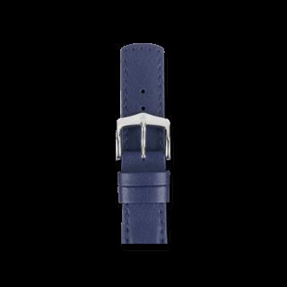Hirsch Uhren-Armband Runner Blau 04002080-2-24