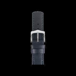 Hirsch Uhren-Armband Runner Schwarz 04002050-2-24