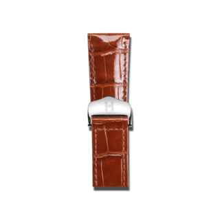 Hirsch Uhren-Armband Savoir Goldbraun 07307470-2-1716