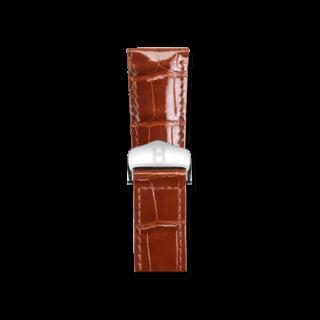 Hirsch Uhren-Armband Savoir Goldbraun 07307470-2-2118
