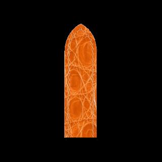 Hirsch Uhren-Armband Savoir Orange 07208476-2-1414