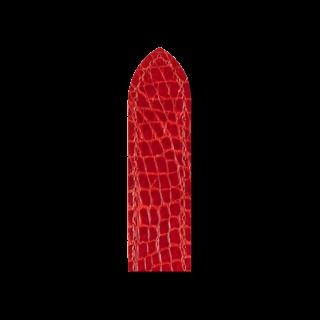 Hirsch Uhren-Armband Savoir Rot 07208420-2-1210