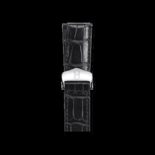 Hirsch Uhren-Armband Savoir Schwarz Matt 07207459-2-1816