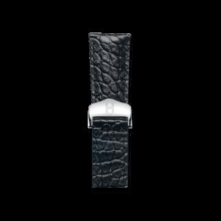 Hirsch Uhren-Armband Savoir Schwarz Matt 07370459-2-2118