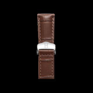 Hirsch Uhren-Armband Speed Braun Matt 07507419-2-2218