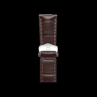Hirsch Uhren-Armband Speed Dunkelbraun Matt 07507417-2-2218
