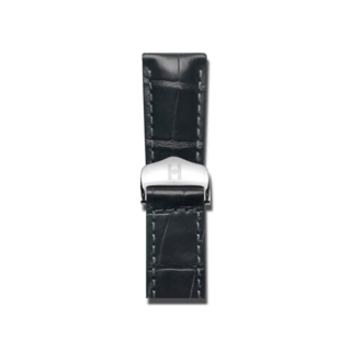 Hirsch Uhren-Armband Speed Schwarz Matt 07507459-2-2118