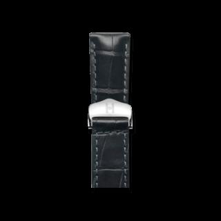 Hirsch Uhren-Armband Speed Schwarz Matt 07507459-2-2218