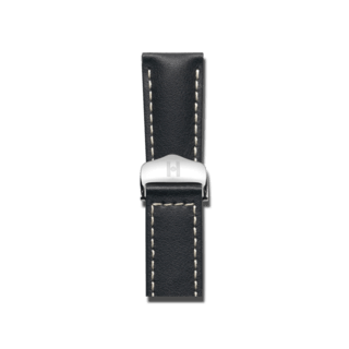 Hirsch Uhren-Armband Speed Schwarz 07402451-2-1816