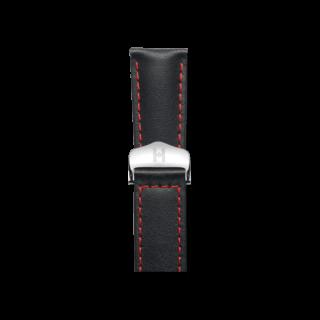 Hirsch Uhren-Armband Speed Schwarz 07502452-2-2218