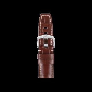Hirsch Uhren-Armband Tritone Braun Matt 08604018-2-22