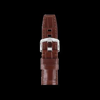 Hirsch Uhren-Armband Tritone Braun Matt 08604019-2-22