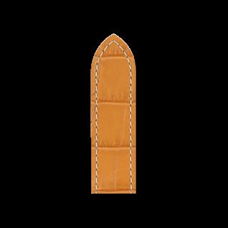 Hirsch Uhren-Armband Tritone Honig 08607074-2-22