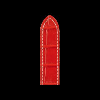 Hirsch Uhren-Armband Tritone Rot Matt 08607026-2-22