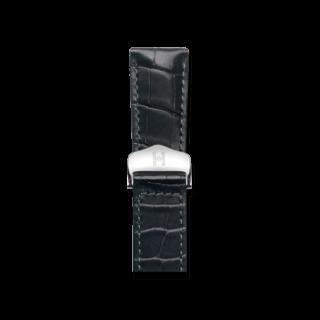 Hirsch Uhren-Armband Voyager Schwarz Matt 07107459-2-2018